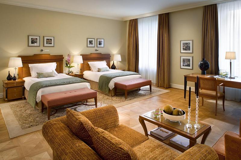Suíte do Hotel Mandarin Oriental em Munique