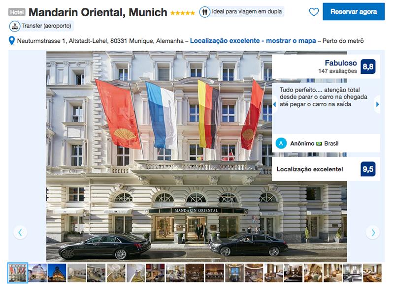 Hotel Mandarin Oriental em Munique