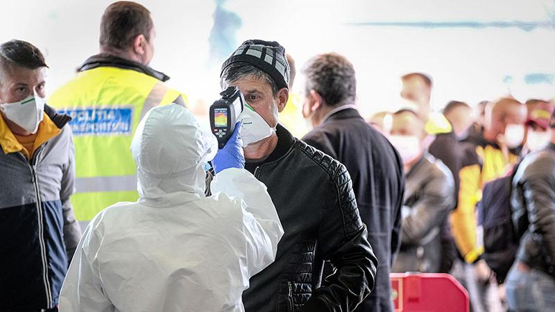 Aeroporto no pós coronavírus na Alemanha