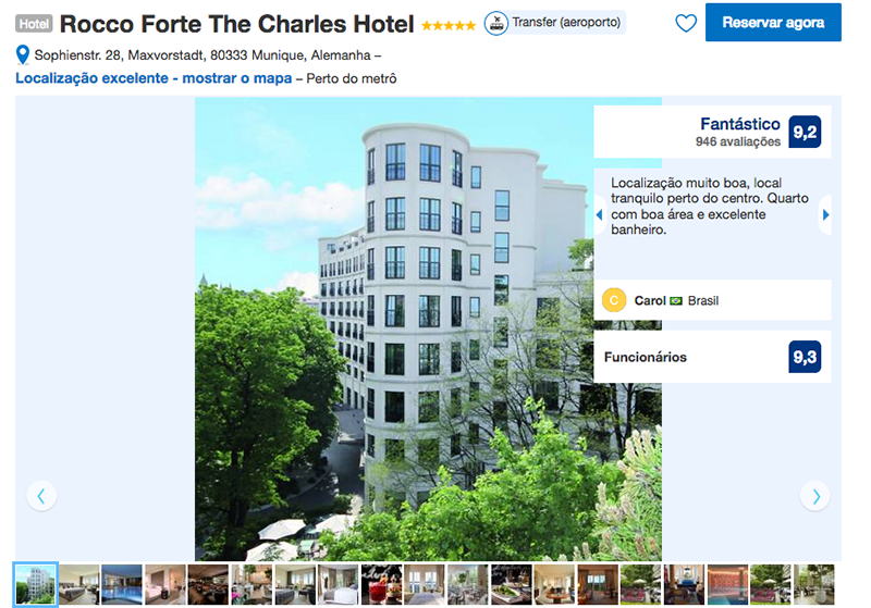 Rocco Forte The Charles Hotel em Munique