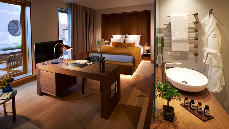 Suíte do Hotel BEYOND by Geisel em Munique